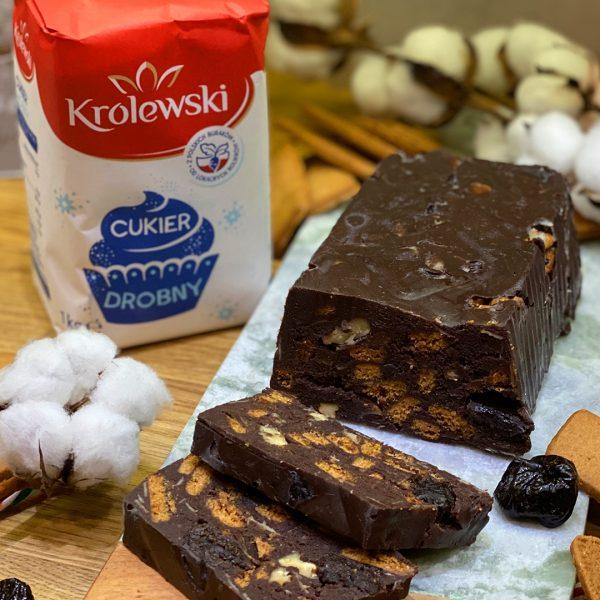 Świąteczny blok czekoladowy